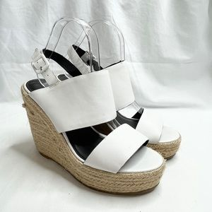 Country Road White Wedges
